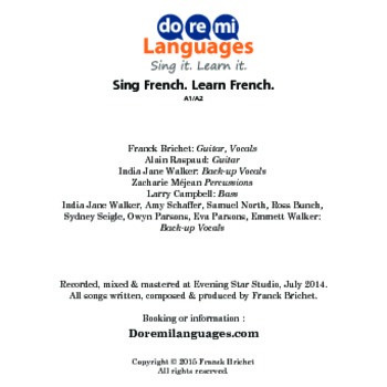 14 French Grammar and Conjugation Songs