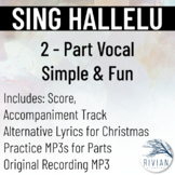 Sing Hallelu - Simple 2-Part Vocal