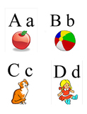 Sing & Learn Alphabet Flash Cards