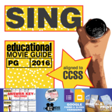 Sing Movie Guide | Questions | Worksheet (PG - 2016)