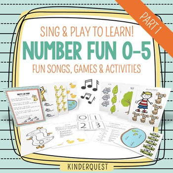 Sing & Play to Learn Number Fun 0-5: Songs, Games & Activities