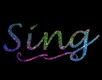 Sing Poster 14x11