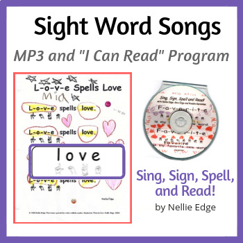 Sing, Sign, Spell, and Read! Sight Word Program with MP3