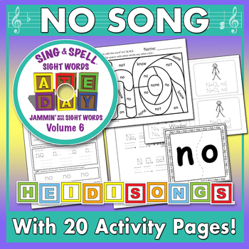 Sing & Spell Sight Words - NO