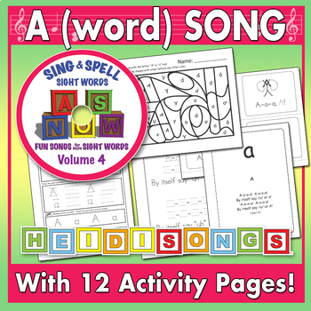 Sing & Spell Sight Words - A (word)