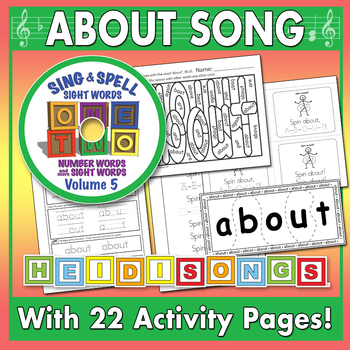 Sing & Spell Sight Words - ABOUT
