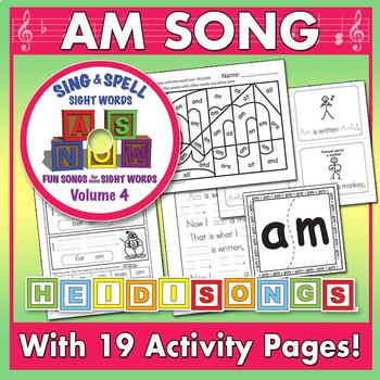 Sing & Spell Sight Words - AM