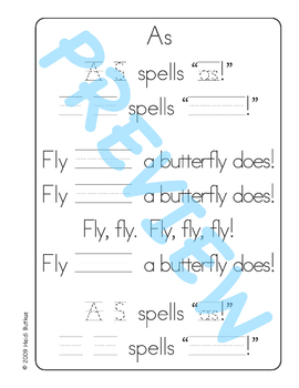 Sing & Spell Sight Words - AS
