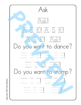 Sing & Spell Sight Words - ASK