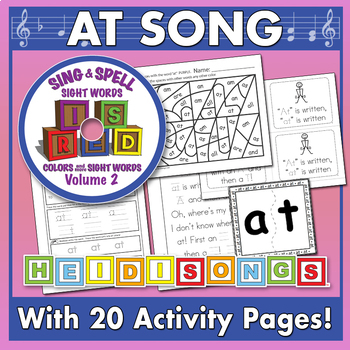 Sing & Spell Sight Words - AT