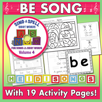 Sing & Spell Sight Words - BE