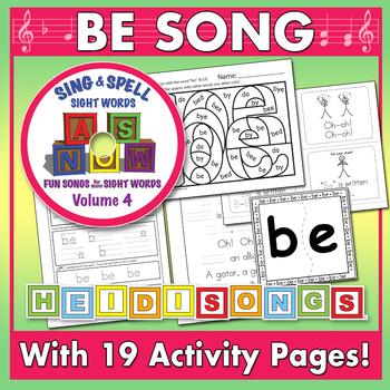 Sing & Spell Sight Words - BE