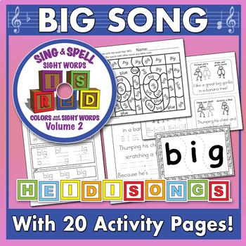 Sing & Spell Sight Words - BIG