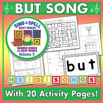Sing & Spell Sight Words - BUT
