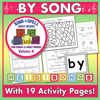 Sing & Spell Sight Words - BY