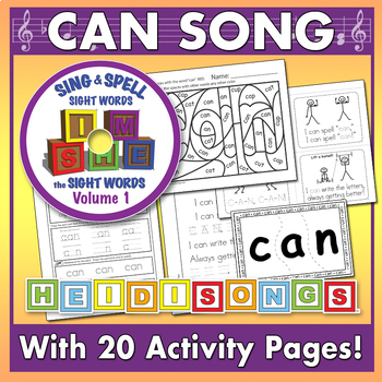 Sing & Spell Sight Words - CAN
