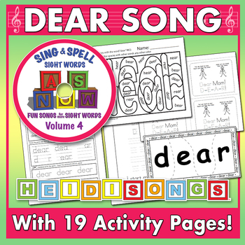 Sing & Spell Sight Words - DEAR