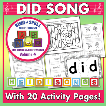 Sing & Spell Sight Words - DID