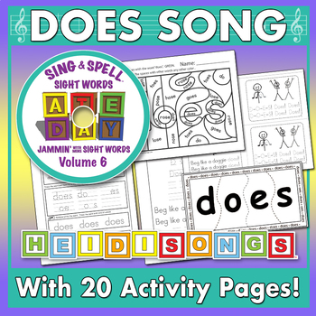 Sing & Spell Sight Words - DOES