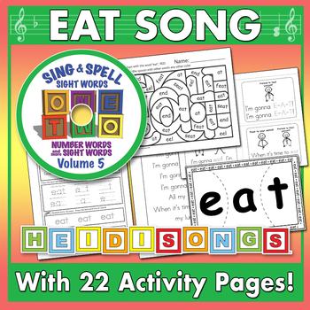 Sing & Spell Sight Words - EAT