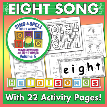 Sing & Spell Sight Words - EIGHT