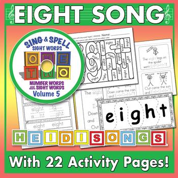 Sing & Spell Sight Words - EIGHT