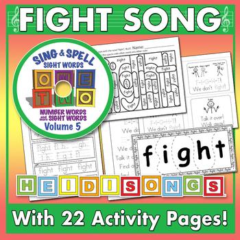 Sing & Spell Sight Words - FIGHT