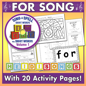 Sing & Spell Sight Words - FOR