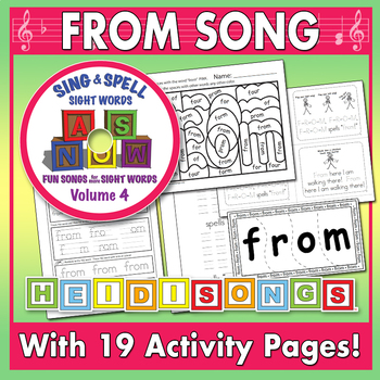 Sing & Spell Sight Words - FROM