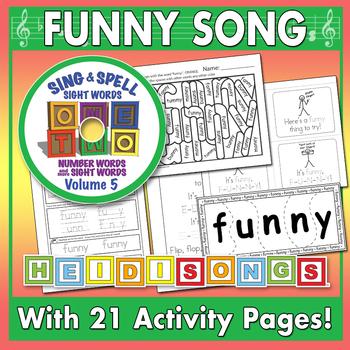Sing & Spell Sight Words - FUNNY