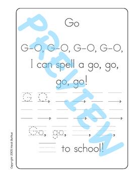 Sing & Spell Sight Words - GO