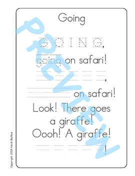 Sing & Spell Sight Words - GOING