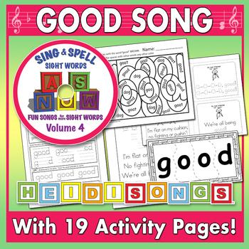 Sing & Spell Sight Words - GOOD