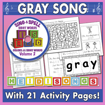 Sing & Spell Sight Words - GRAY