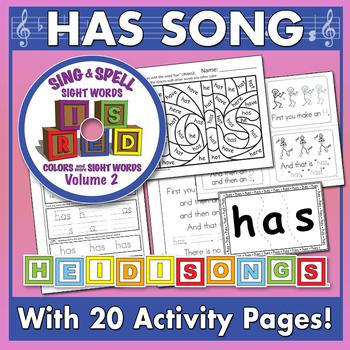 Sing & Spell Sight Words - HAS