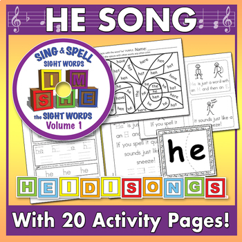 Sing & Spell Sight Words - HE