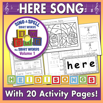 Sing & Spell Sight Words - HERE