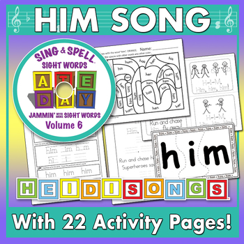 Sing & Spell Sight Words - HIM