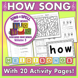 Sing & Spell Sight Words - HOW