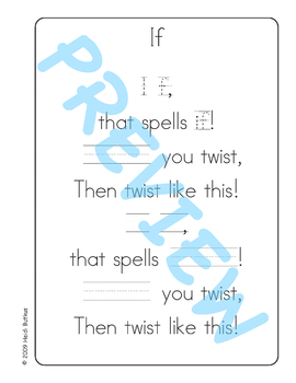 Sing & Spell Sight Words - IF