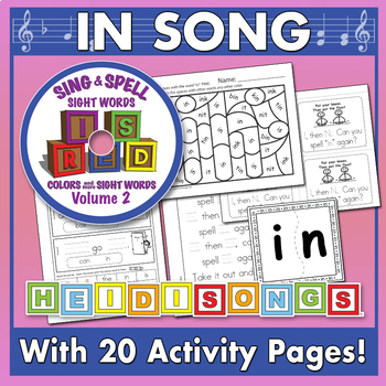 Sing & Spell Sight Words - IN