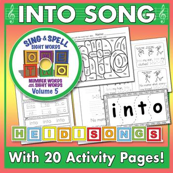 Sing & Spell Sight Words - INTO