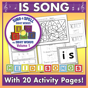 Sing & Spell Sight Words - IS