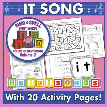 Sing & Spell Sight Words - IT
