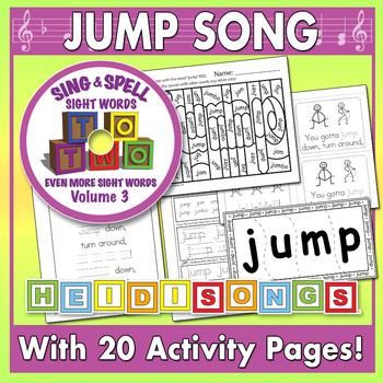 Sing & Spell Sight Words - JUMP