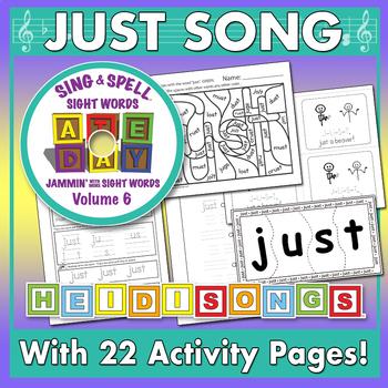 Sing & Spell Sight Words - JUST