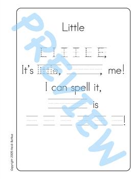 Sing & Spell Sight Words - LITTLE