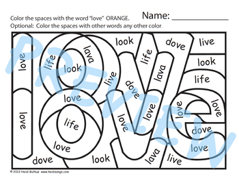 Sing & Spell Sight Words - LOVE
