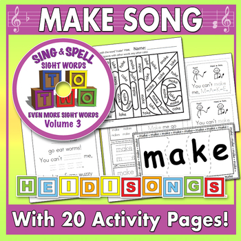 Sing & Spell Sight Words - MAKE