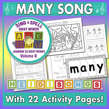 Sing & Spell Sight Words - MANY